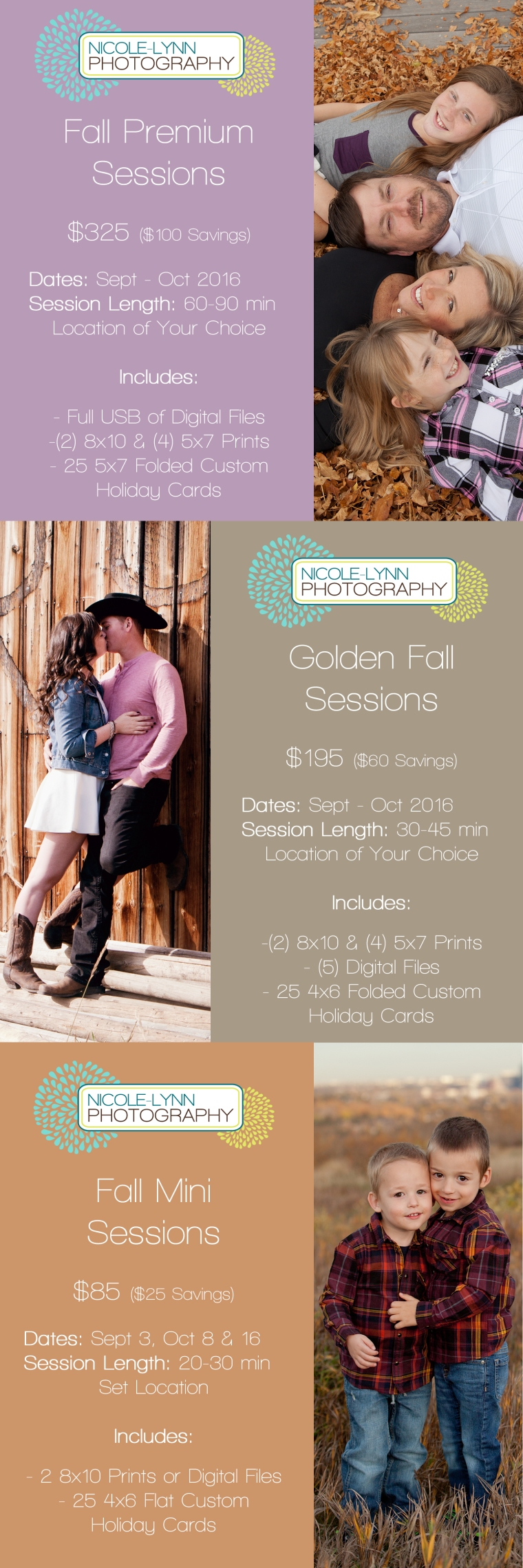 2016 Fall Sessions