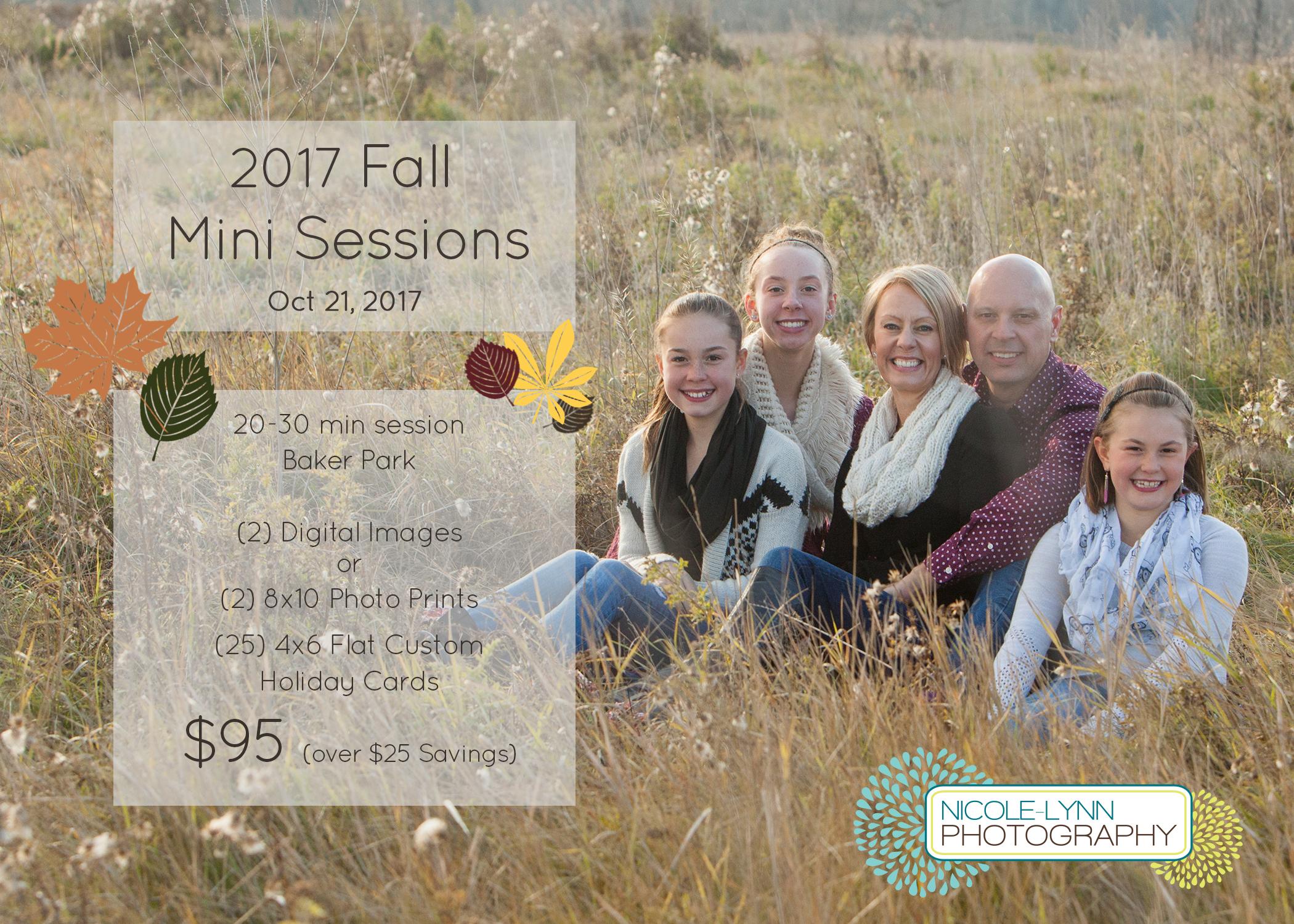 2017 Mini Fall Sessions (Oct 21)