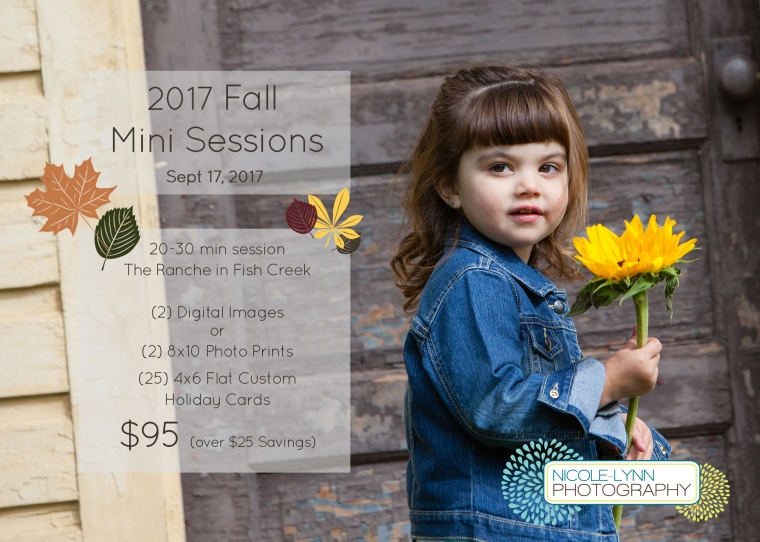 2017 Mini Fall Sessions (Sept 17)